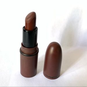MAC mini lipstick 💄 antique velvet color ( brown)